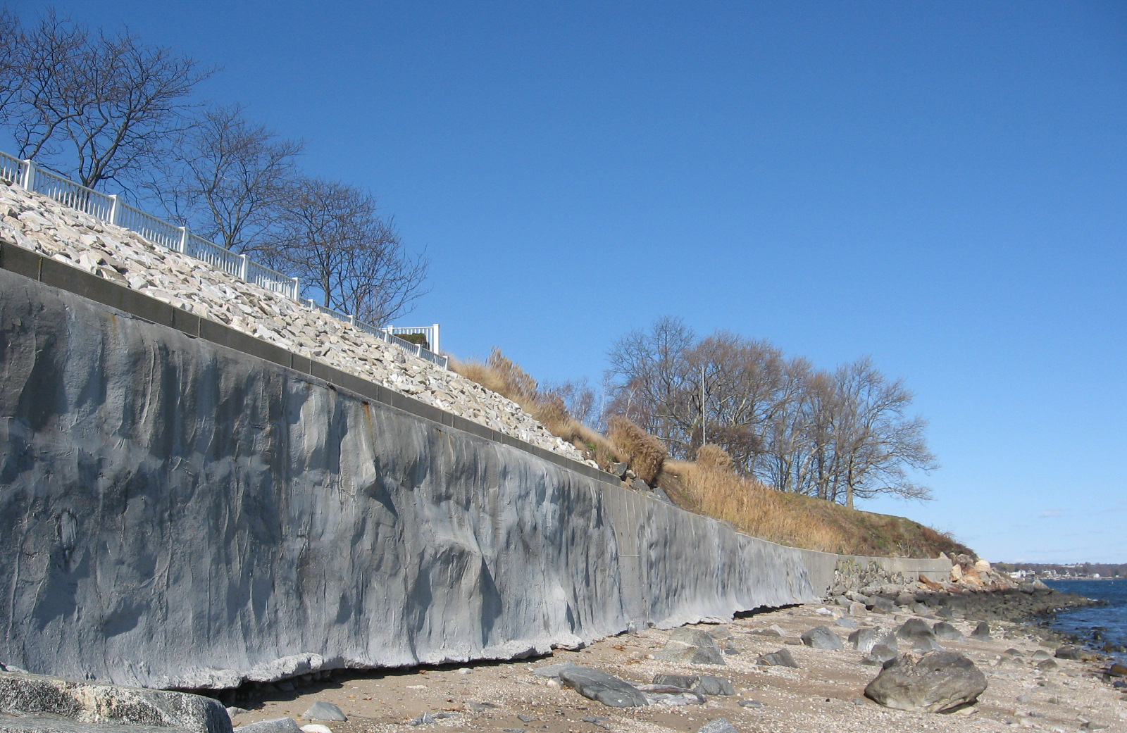 Seawall Erosion Protection