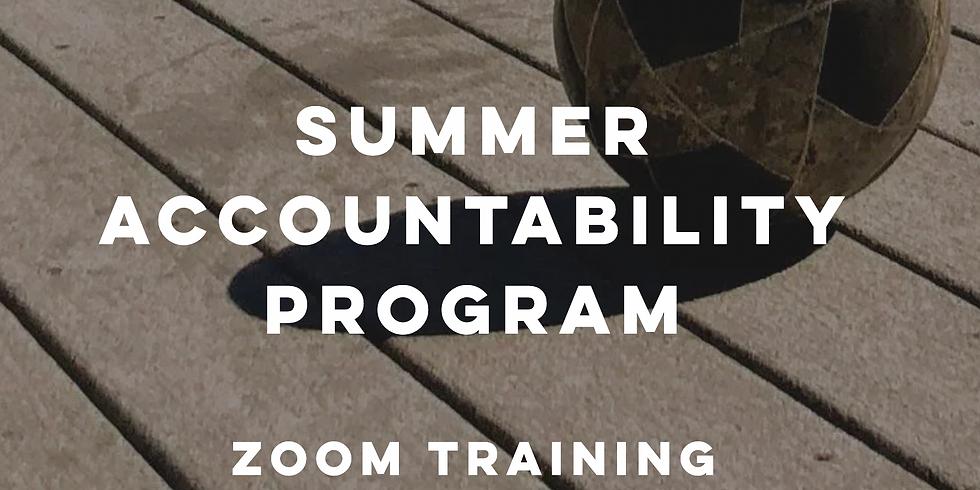 July Summer Accountability