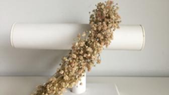 Bloemenkroon Mila met zachte roze bloemetjes