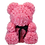 Rose Bear L Hot Pink personaliseerbaar