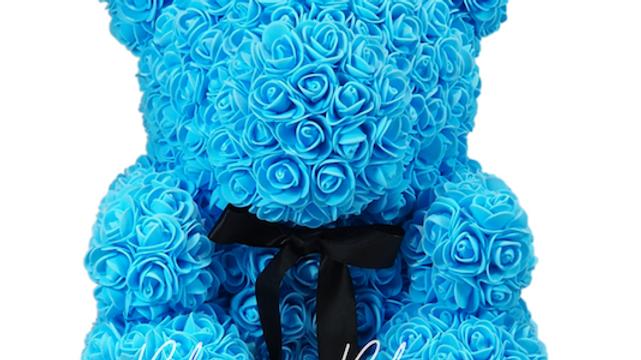 Rose Bear L Ocean Blue