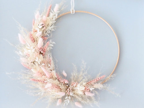 Flower Hoop Heavenly Pink
