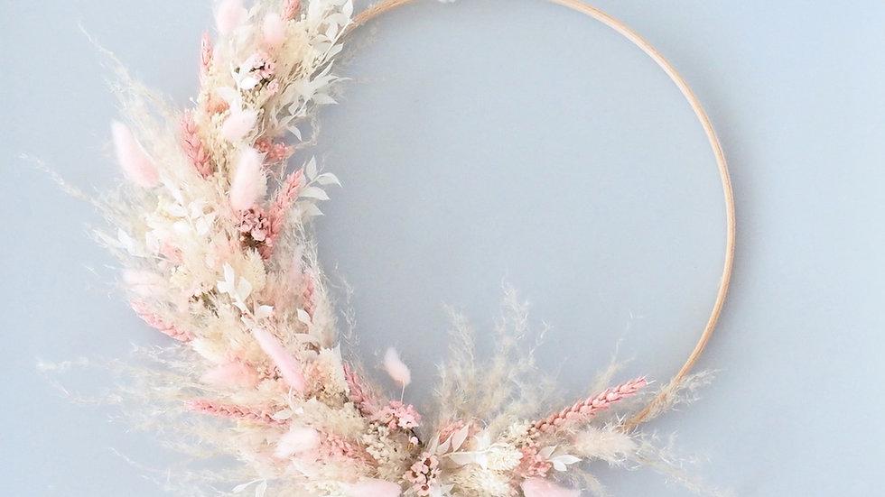 Flower Hoop Heavenly Pink