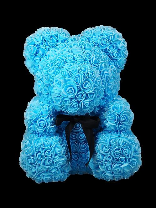Rose Bear L Ocean Blue personaliseerbaar