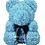 Rose Bear L Baby Blue