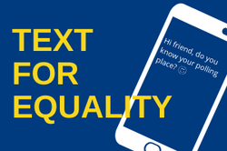 text for equality