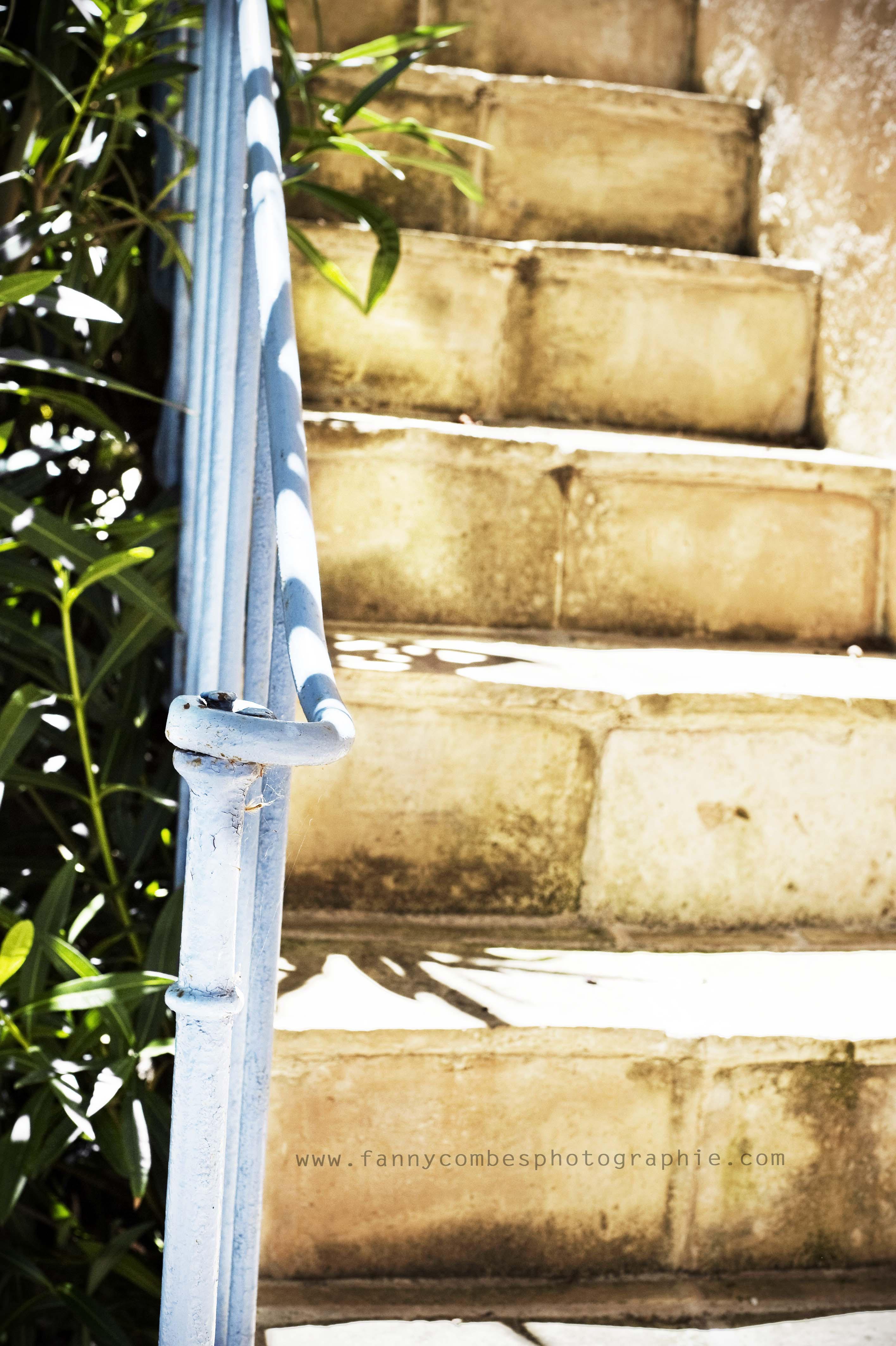 Escalier de l'atelier