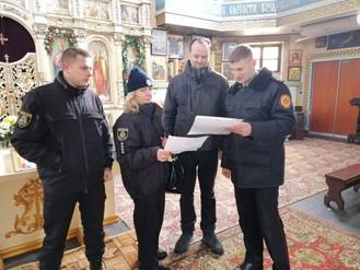 Ірпінський регіон: проведено роз'яснювальну роботу з настоятелями та працівниками культових спор