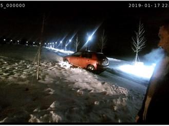 Нетверезий водій застряг у заметі на Набережній