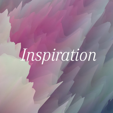Finding your inspiration.