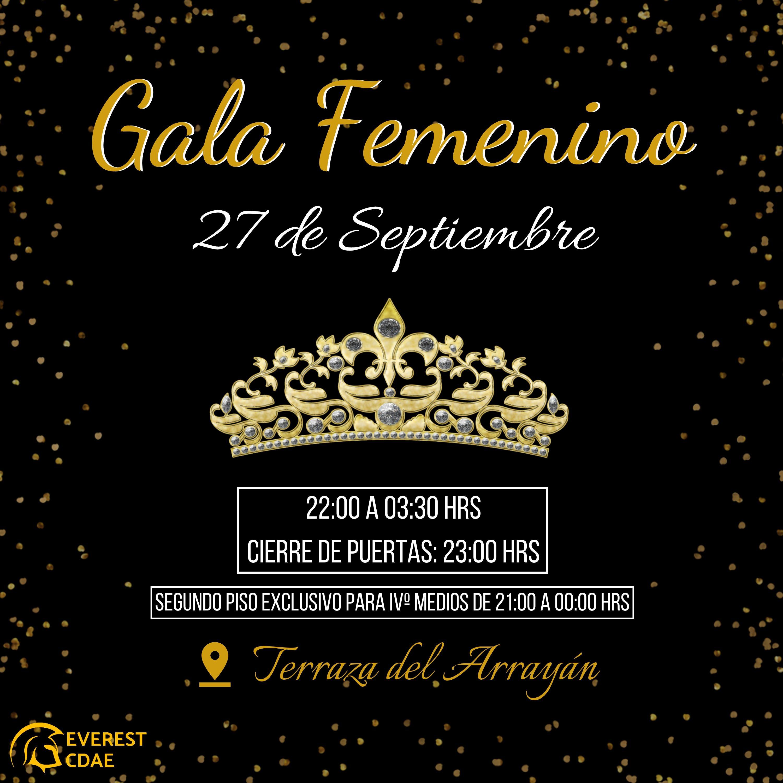 Gala Femenino 2019
