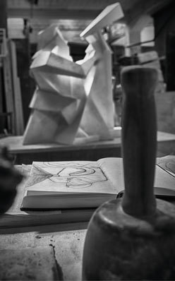 Theo Sculpting Out the Perfect Frame