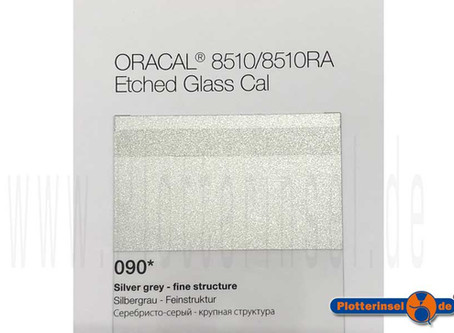 Oracal 8510RA Etched Glass Cal