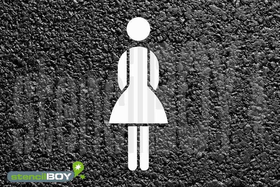 Frauenparkplatz - Women only