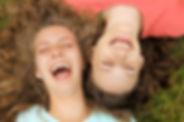 Lachen macht schön