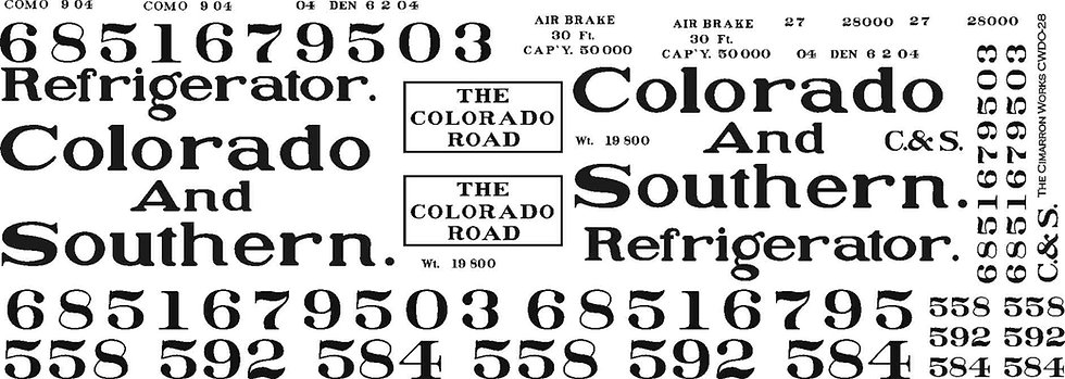 CWDO-28 C&S reefer ca 1905