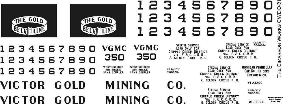 CWDO-31 Victor Gold Mining Gon