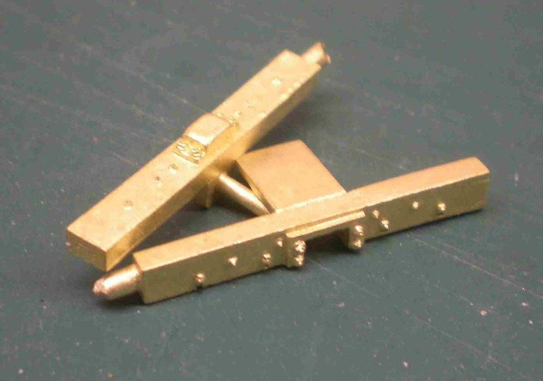 LBS-31Baldwin/Grant tender endbeam set, 2 pieces