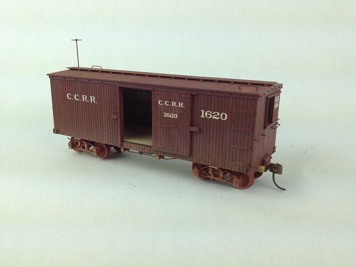 LSO-7 CCRR Boxcar #1620 -SOLD OUT!