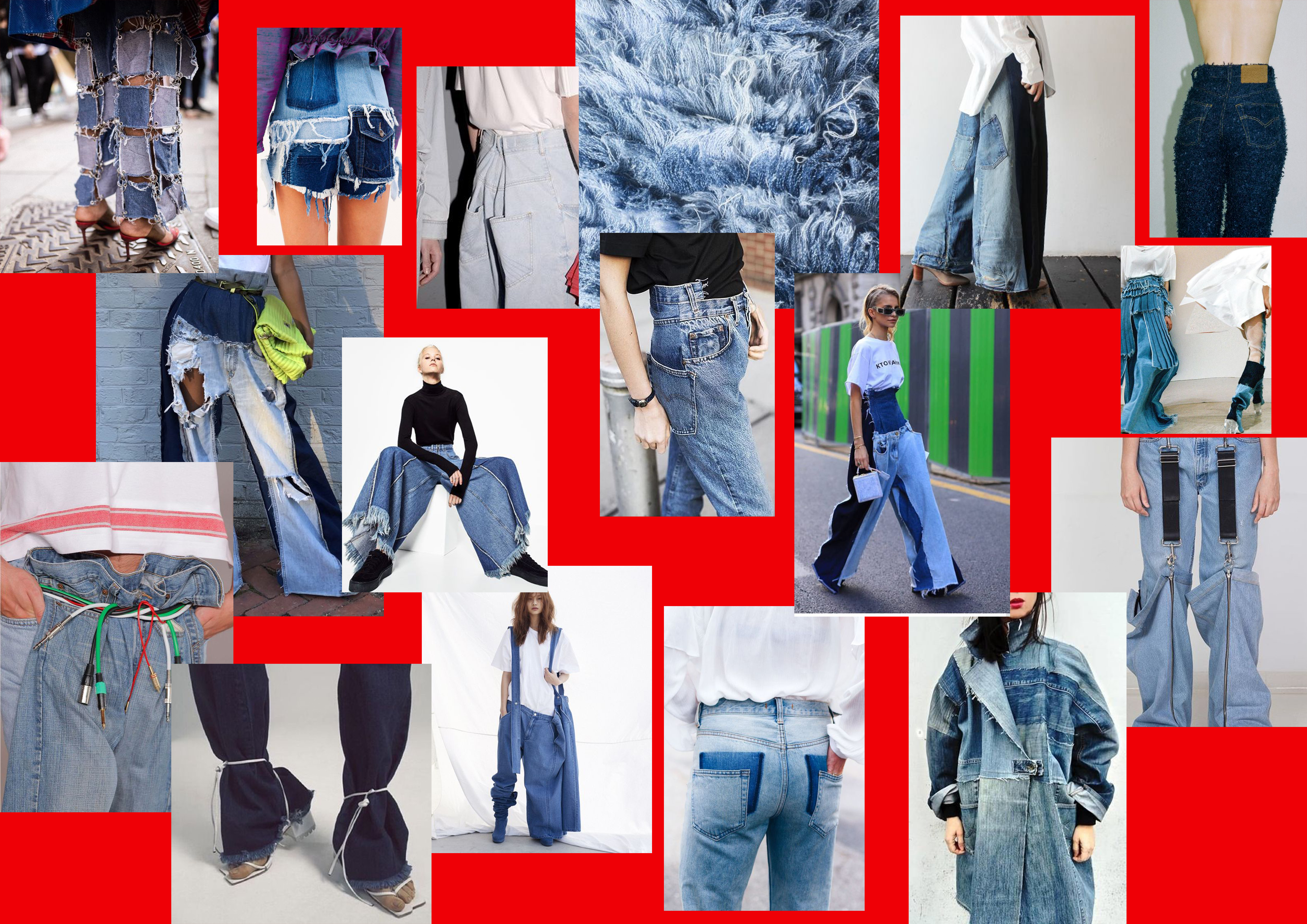 jeans re-use