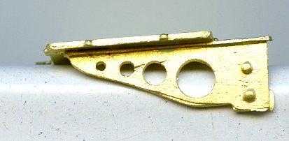 LBS-26DSP&P style headlight bracket
