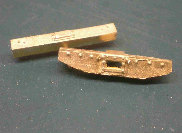 LBS-32Cooke tender endbeam set, 2 pieces