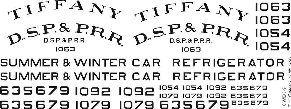 CWDS-9 Tiffany Reefer