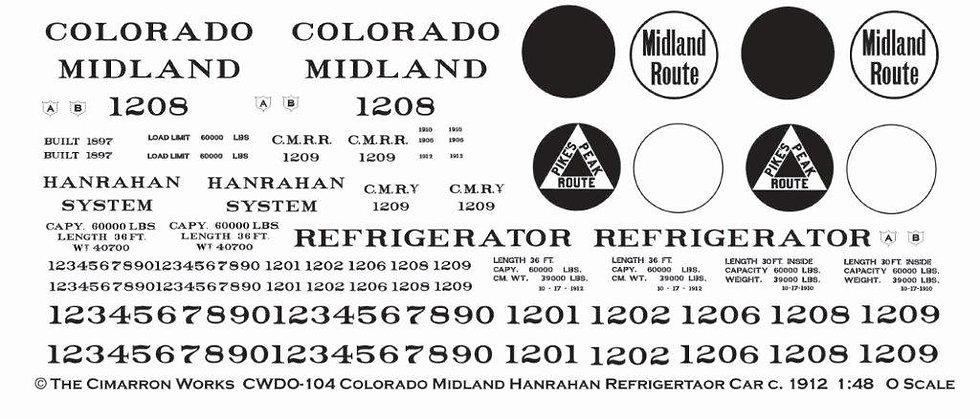 CWDO-104 Colorado Midland Hanrahan c.1912
