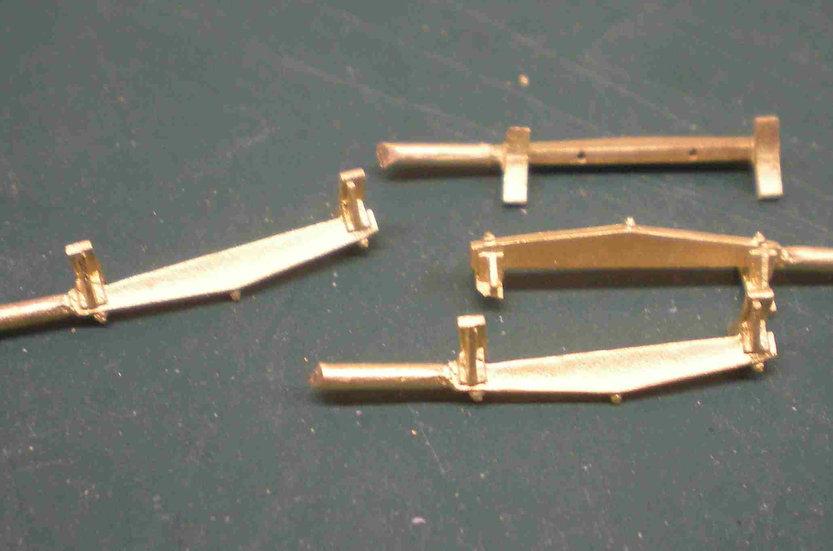LBS-44 Early wood brake beam set (4)