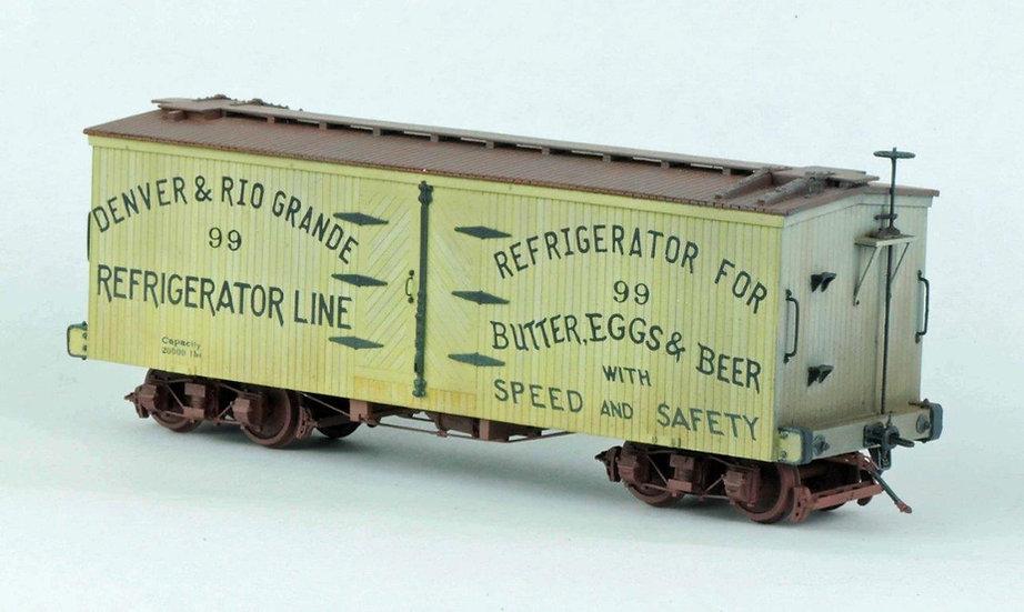 LSS-4 D&RG Billboard Reefer #99