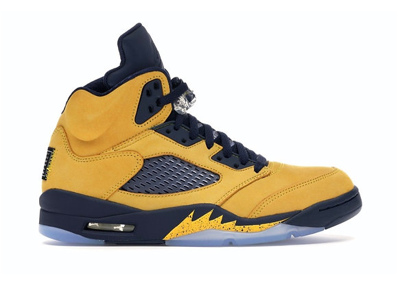 Jordan 5 Michigan (Size 10.5)