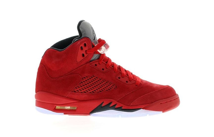 Jordan 5 Red Suede (Size 11.5)