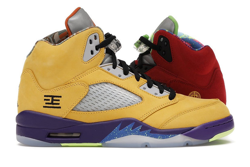 Jordan 5 what the (Size 8.5)