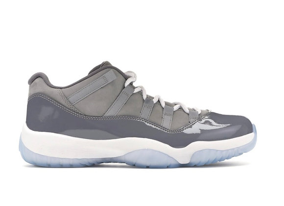 Jordan 11 low cool grey (Size 12)