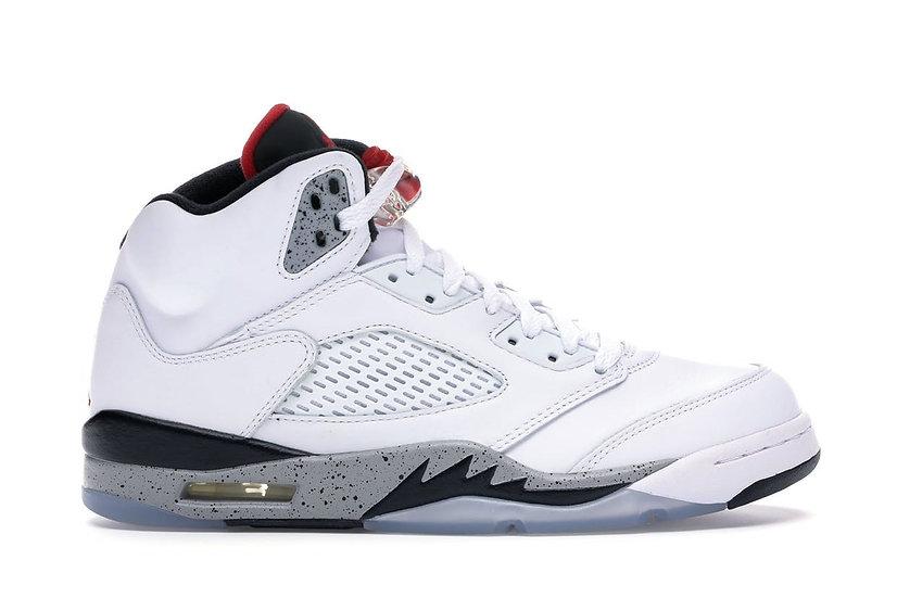 Jordan 5 White Cement (Size 12)