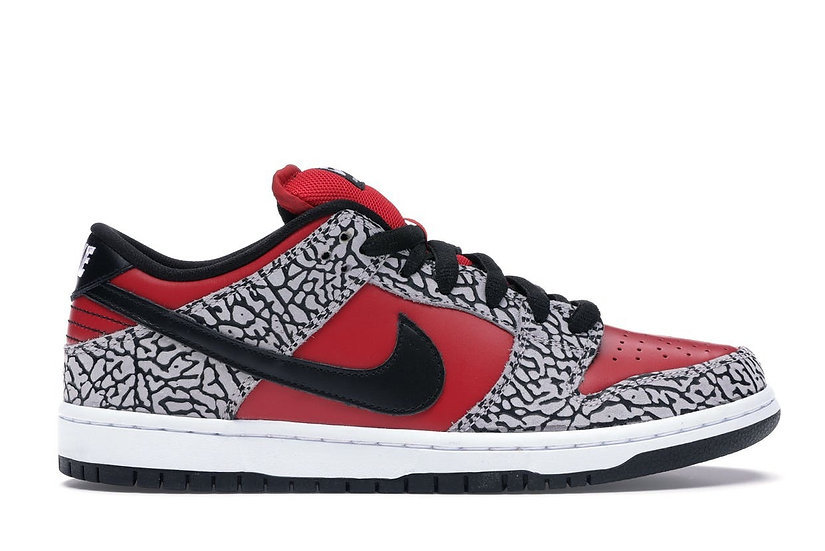 Supreme dunk low Red Cement