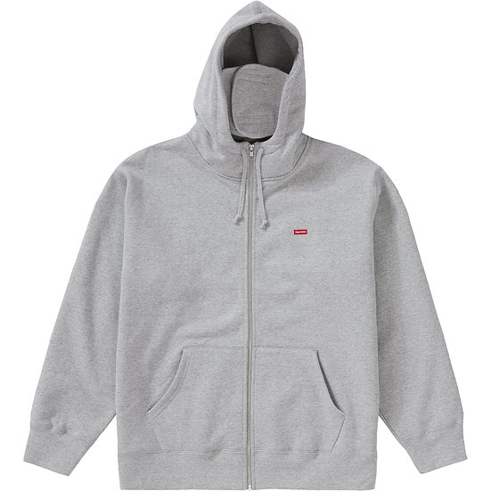 Supreme small box logo zip up