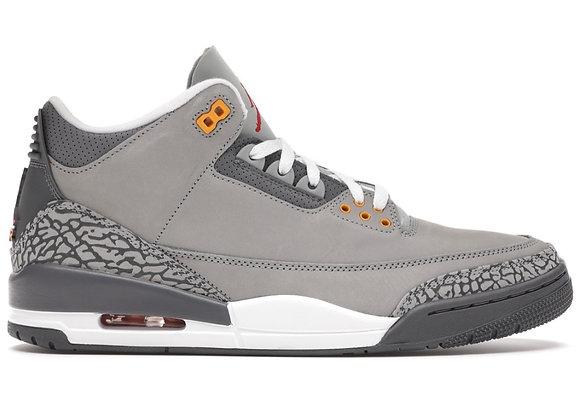 Jordan 3 Cool Grey (Size 10.5)
