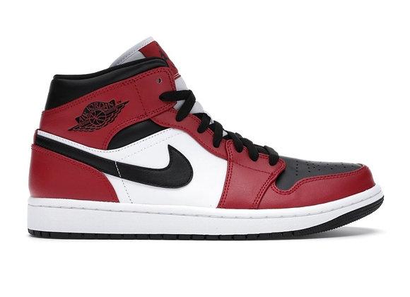 Jordan 1 Mid Black Toe (Size 9.5)