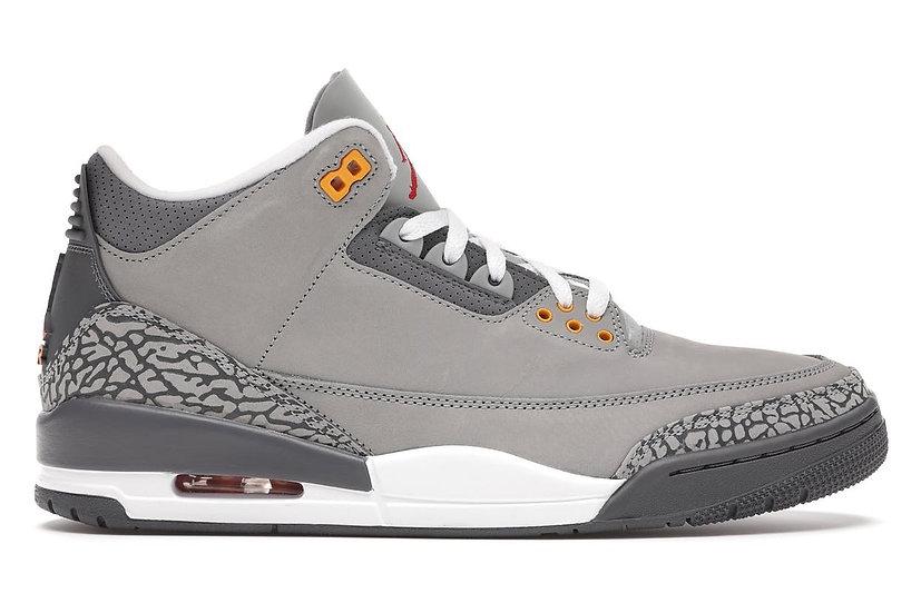 Jordan 3 Cool Grey (Size 9)