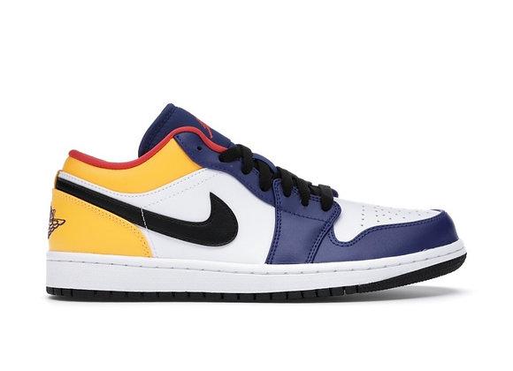 Jordan 1 low Royal yellow (Size 15)