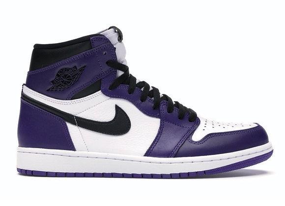 Jordan 1 Court Purple 2.0 (Size 12.5)