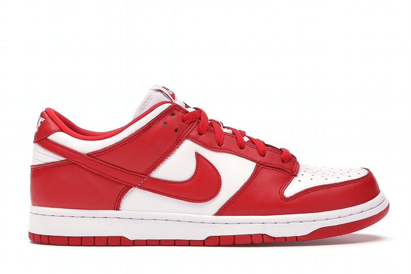 Dunk low University red (Size 5)