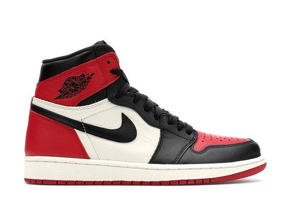 Jordan 1 Bred Toe (Size 10.5)