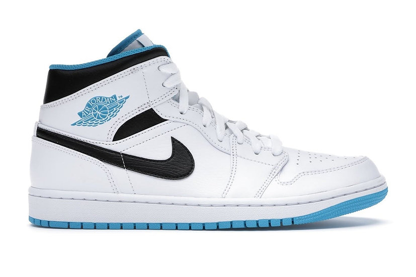 Jordan 1 Mid Laser Blue (Size 11)
