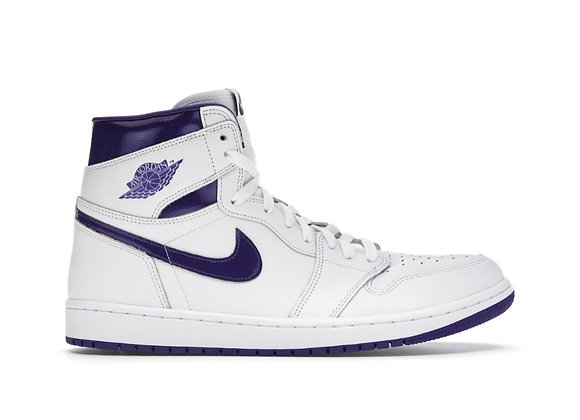 Jordan 1 court purple (Size 10W)
