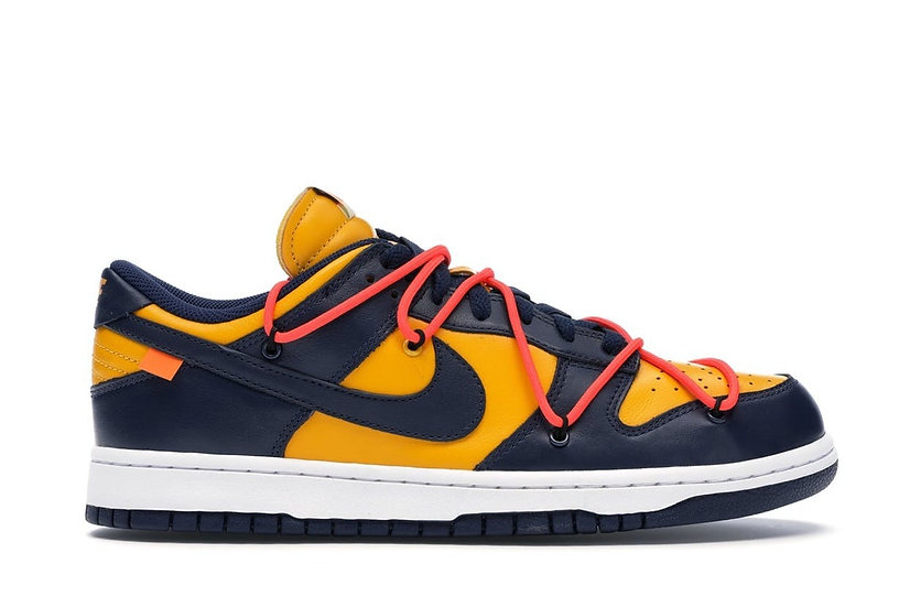 Dunk Low Off-White Michigan (Size 12)
