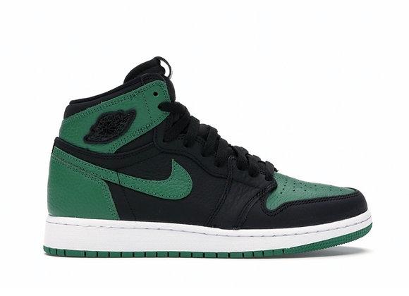 Jordan 1 Pine Green 2.0 GS (Size 6y)