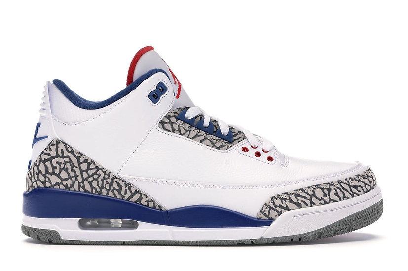 Jordan 3 True Blue (Size 11.5)