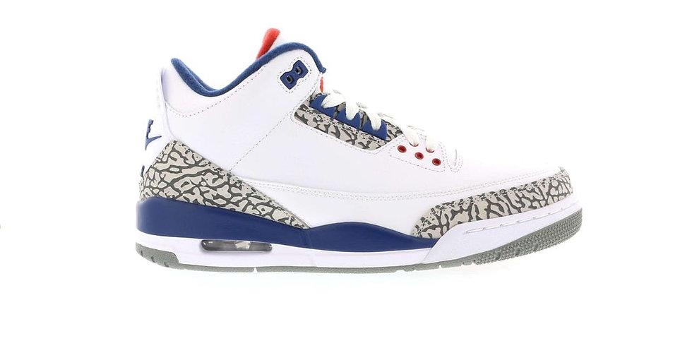 Jordan 3 True blue (Size 8.5)
